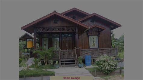desain rumah kampung youtube