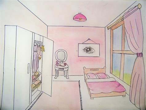 dessin d une chambre awesome dessin chambre perspective photos ohsopolish com