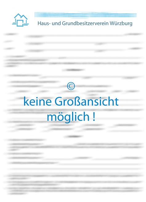 Mietvertrag Für Wohnraum (online Ausfüllen)  Verlags Gmbh