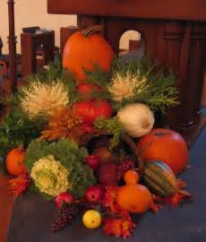 Fall Church Decorations