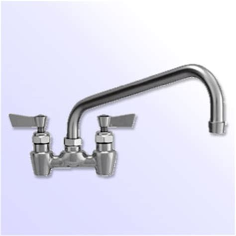 Stainless Steel 4 Inch Spread Commercial Faucets