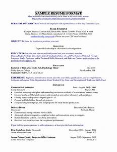 resume template teenager recommendation letter template With resume samples for teenage jobs