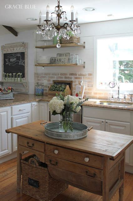 Chic Living Room Makeover Fit Country by Gracie Blue Home Tour White Kitchen Reveal