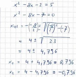 Nullstellen Berechnen Pq Formel Aufgaben : pq formel aufgaben und l sungen ~ Themetempest.com Abrechnung