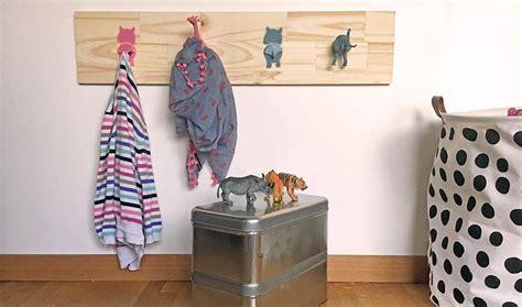 tuto deco chambre idée déco pour chambre d 39 enfant diy portemanteau animaux