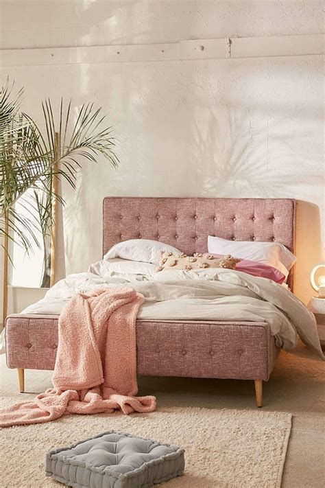 urban outfitters layla upholstered bed frame urban