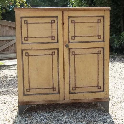 Painted Cupboard by Decorative Antique Painted Cupboard Antique Cupboards