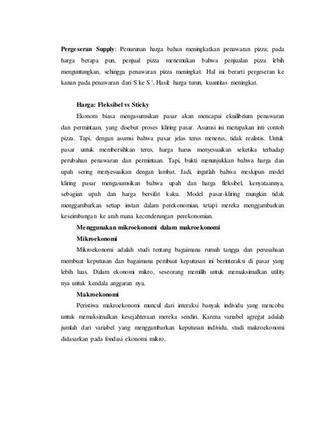 Resume makro ekonomi bab 1-19 mankiw