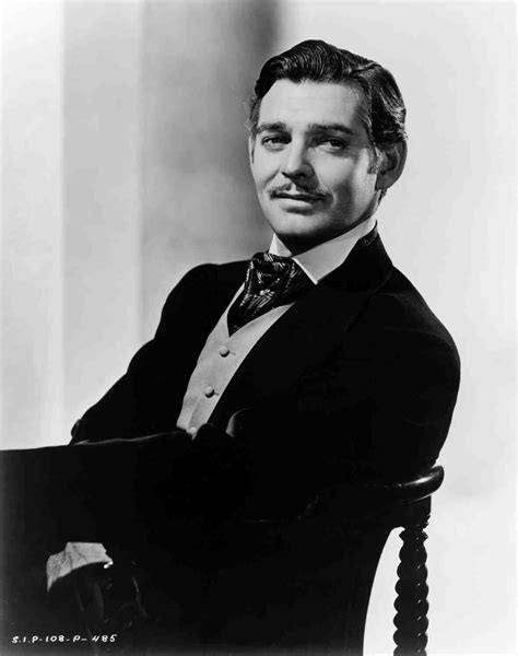 Clark Gable in Gone with the Wind (1939) Turner classic