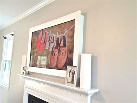 Diy Tv Frame Disguise That Flat Screen!  Decorating Your