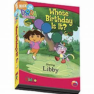 Dora the Explorer Personalized Birthday DVD - FindGift com