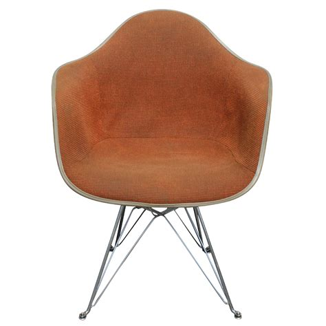 herman miller eames fiberglass shell armchair orange ebay