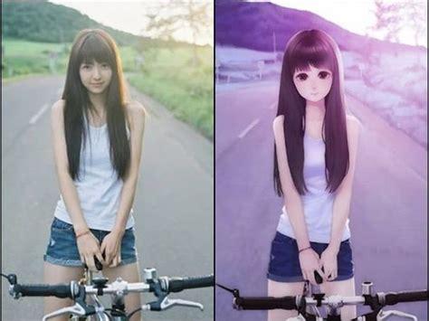 anime girls  real life girls  pics
