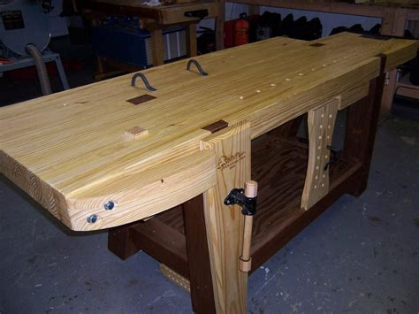 making  roubo workbench part  finewoodworking