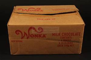 The Prop Gallery   Wonka bar outer box