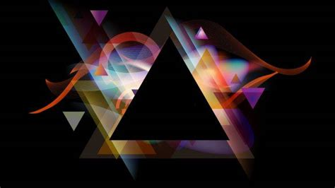 triangle abstract wallpapers hd desktop  mobile