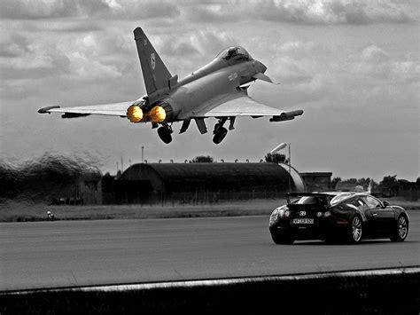 A(z) bugatti vs.eurofighter! című videót alex357 nevű felhasználó töltötte fel a(z) járművek kategóriába. One of the coolest Top Gear episodes! Bugatti vs fighter jet! | Aviones de combate, Aviones ...
