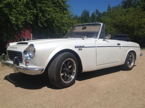 Used Datsun 2000 For Sale by 1968 Datsun Roadster 1600 Fairlady Recently Restored
