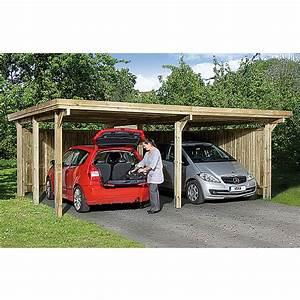 Carport Maße Für 2 Autos : weka doppelcarport optima duo 5 12 x 6 03 m ~ Michelbontemps.com Haus und Dekorationen