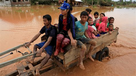 Huge Flood From Failed Dam In Laos Has Now Spread To ...