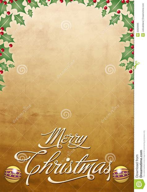 beautiful christmas card poster royalty  stock photo