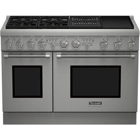 Thermador  SelfCleaning Freestanding Double Oven Dual