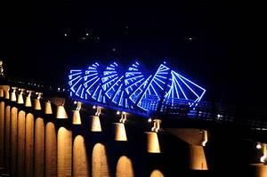 high trestle bridge ilight technologies With outdoor lighting des moines