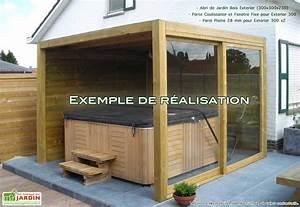 Spa En Bois Pas Cher : abri de jardin bois exterior 300x300x230 abri de ~ Premium-room.com Idées de Décoration