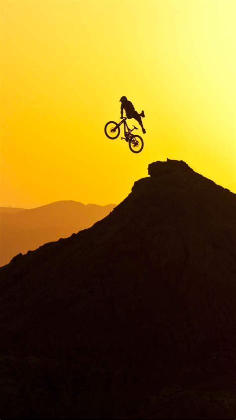 mountain bike sunrise wallpaper  iphone        wallpapers