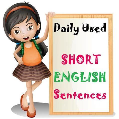 short english sentences   daily life  images