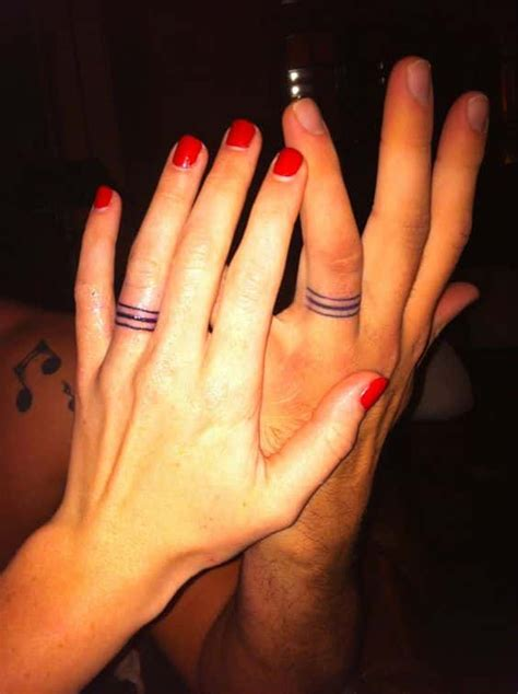 wedding ring tattoos for men ideas and inspiration for guys