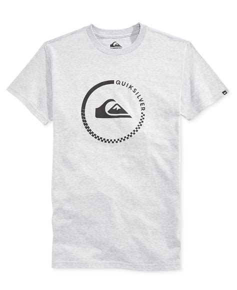 Tshirt Quiksilver Logo White quiksilver s everyday active graphic print logo t