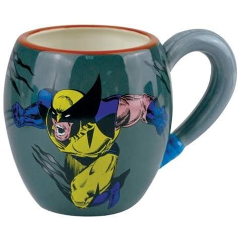 We carry 11 oz ceramic mugs, 15 oz ceramic mugs, 20 oz ceramic mugs, and 17 oz latte mugs. 4 Inch X-men The Ferocious Wolverine Multi-Colored 15 Oz Coffee Mug - Walmart.com - Walmart.com