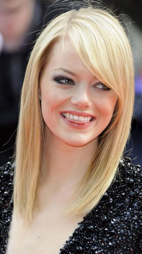 side bangs long layers hairstyles   faces