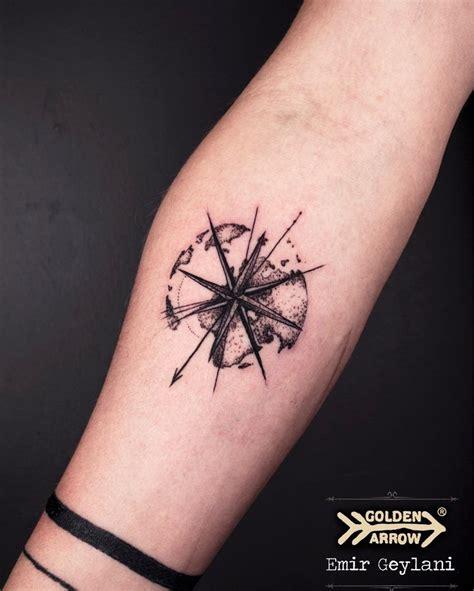 compass tattoo design ideas  pinterest