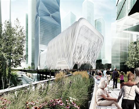 Culture Shed Hudson Yards by Diller Scofidio Renfro Designs Telescopic Culture Shed