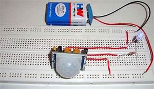 Electronic Circuits And Projects  Pir Sensor Based Motion
