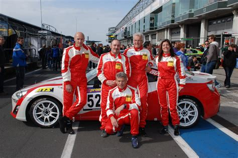 Racing Team by Toyota To Field Four Gt86 And One Lexus Lfa At The