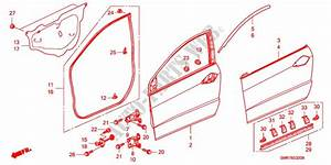 2007 Honda Civic Body Parts Diagram