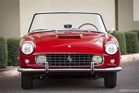 Полет дизайнерской мысли (15 фотографий). 1960, Ferrari, 250, G t, Cabriolet, Pininfarina, Series ii, Classic, Supercar Wallpapers HD ...