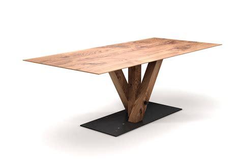 Als Tisch by Eiche Tisch Mit Schweizer Kante Nach Ma 223 Holzpiloten