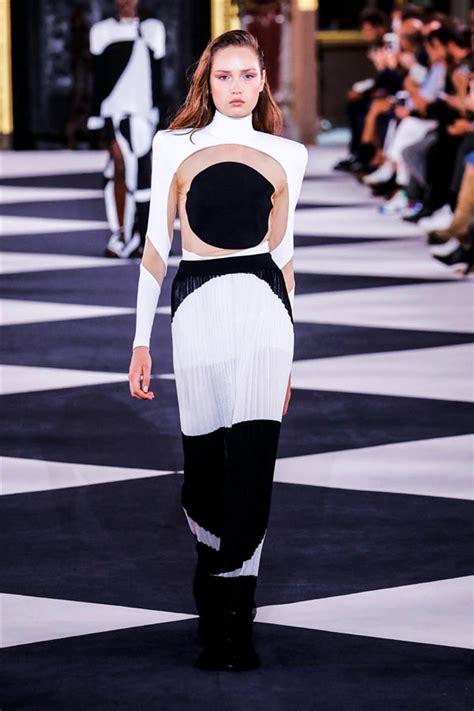 paris fashion week balmain spring  collection tom