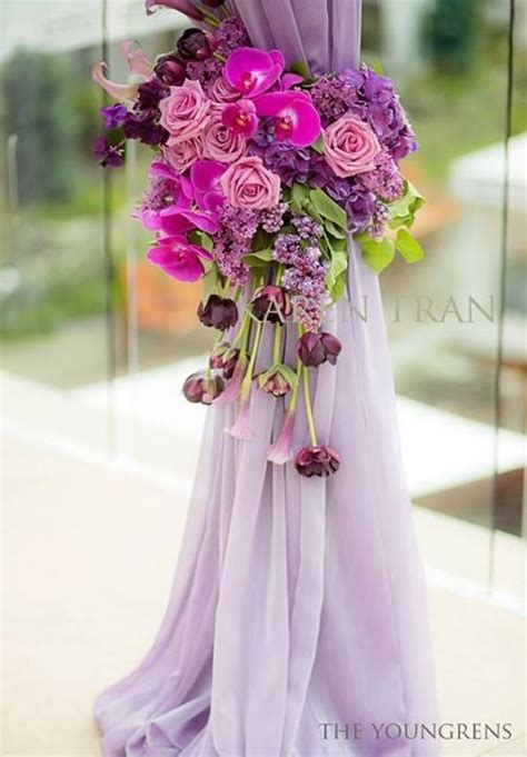 images  floral tie backs wedding  pinterest