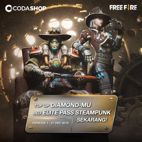 steampunk kostum elite pass season   fire bulan