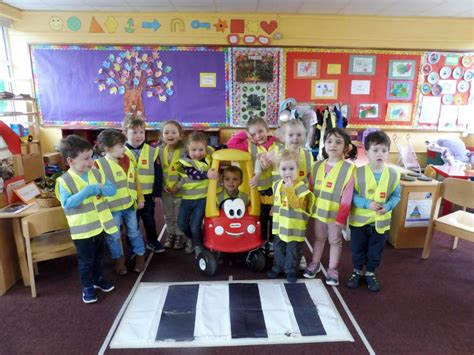 beep beep day at stepping stones preschool millstreet ie 785 | Learning about Road Safety Stepping Stones Preschool 2018 10