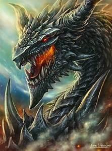 Dark Blue dragon | Dragons. Dragones. | Pinterest | Blue ...