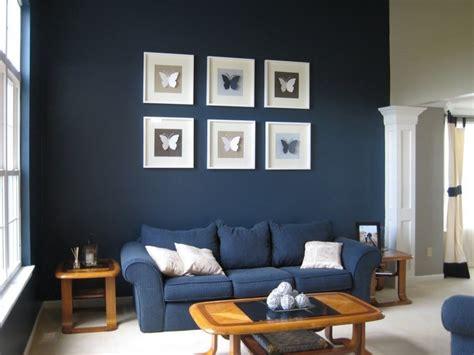 Blau Wohnzimmer by Wohnzimmer Farblich Gestalten 71 Wohnideen Mit Der Farbe Blau