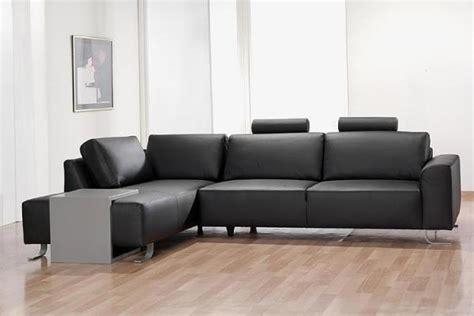 cuir center canape canapé d 39 angle cuir noir photo 5 15 ce canapé d 39 angle