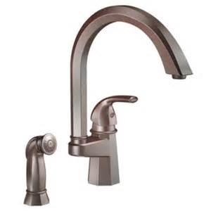moen single handle kitchen faucet parts rubbed bronze one handle high arc kitchen faucet