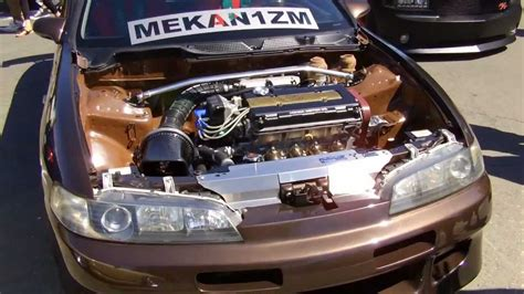 acura integra gsr jdm front  conversion  volk